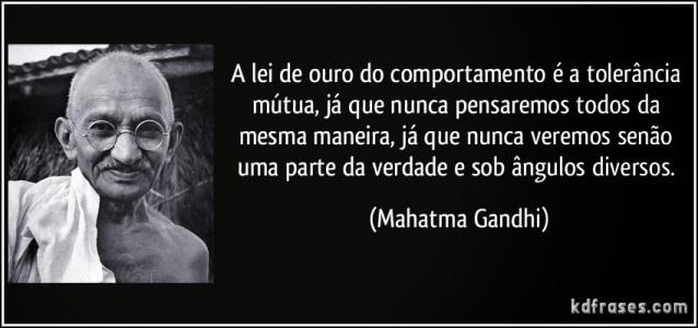 Tolerância Gandhi